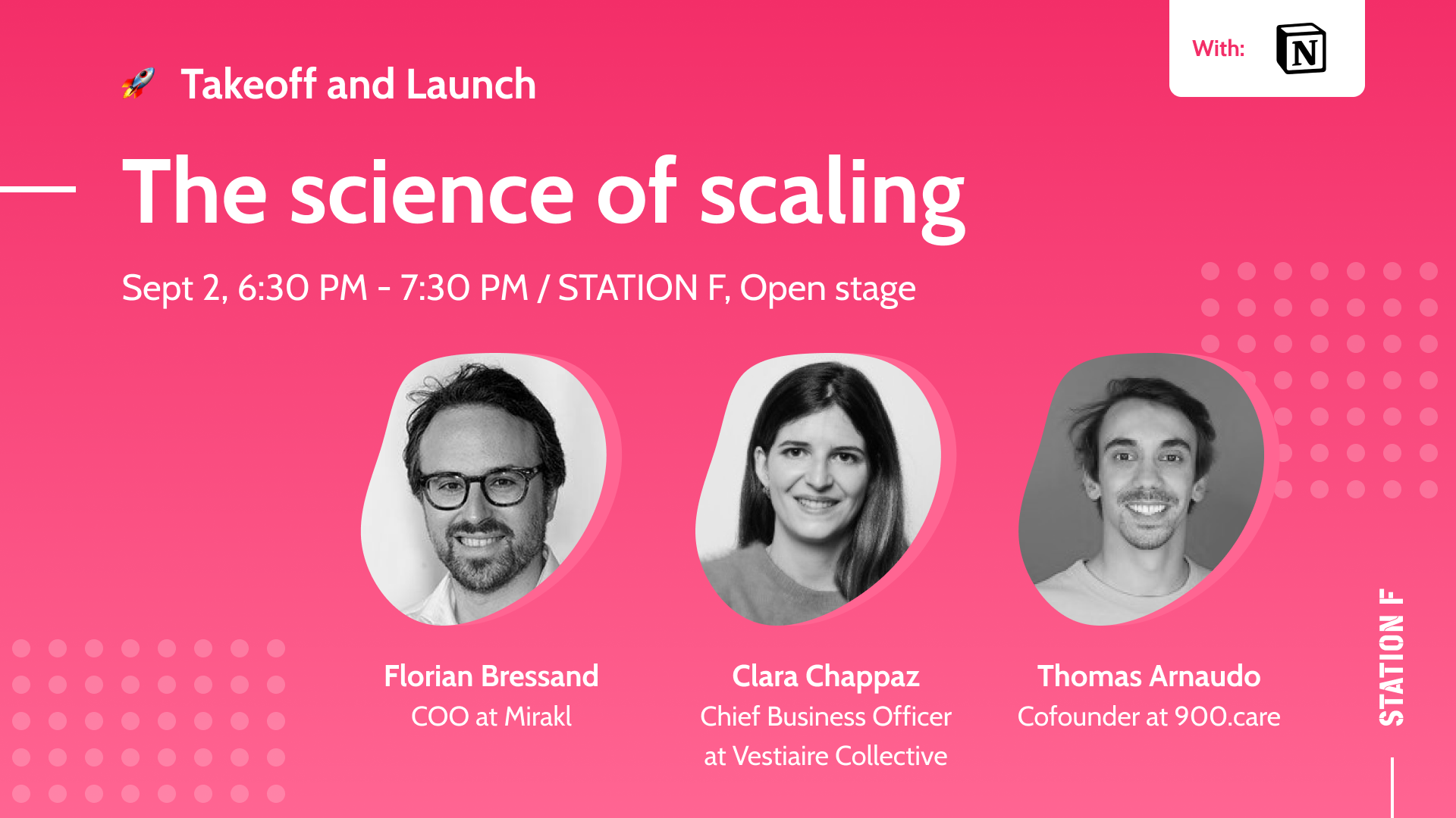 Thumbnail for event The science of scaling