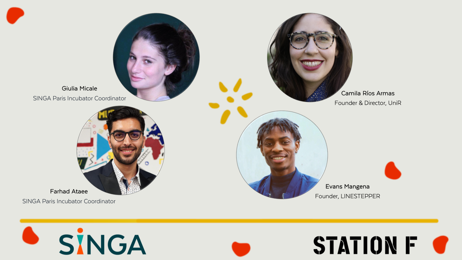 Thumbnail for event Support Ecosystem for Newcomer Entrepreneurs: the SINGA approach