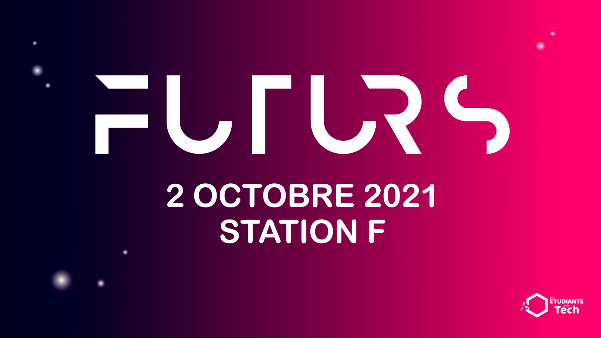 Thumbnail for event FUTURS - experience a day in the future (in French)