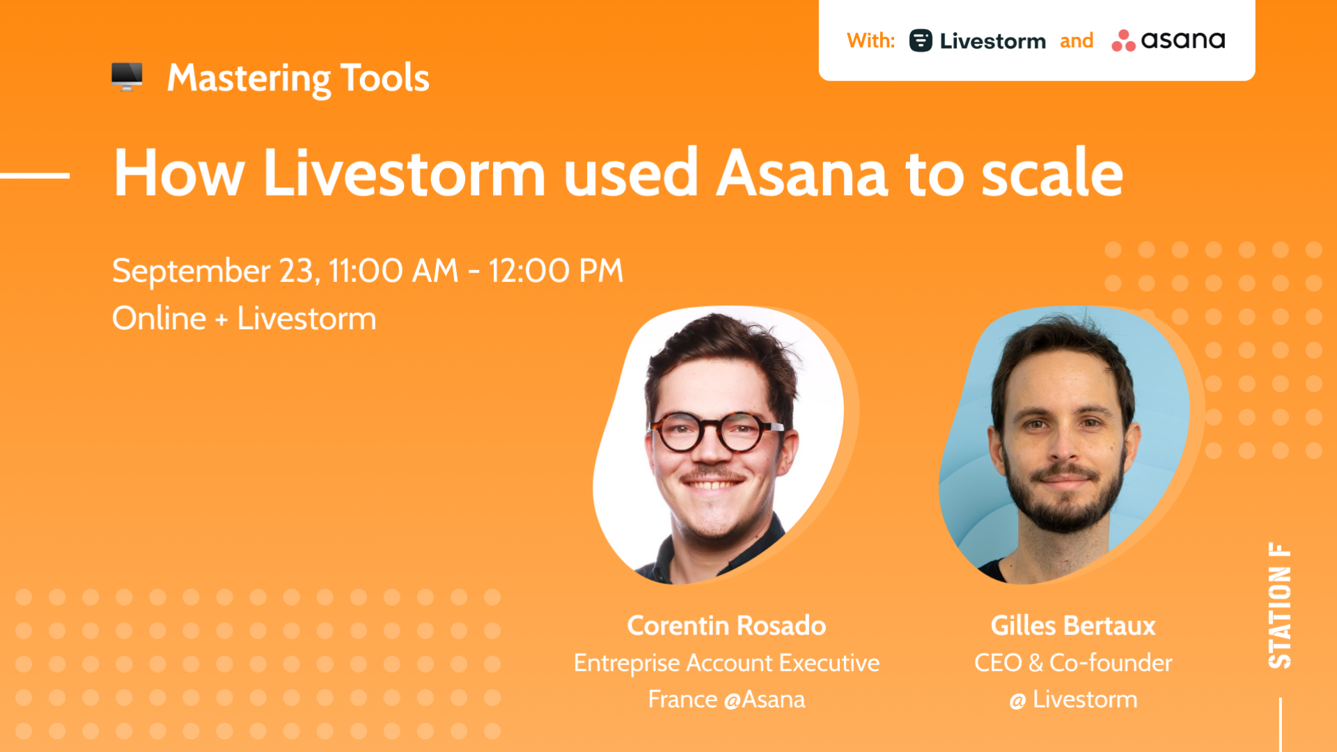 Thumbnail for event How Livestorm used Asana to scale
